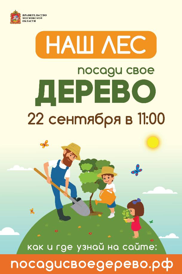 Плакат Наш Лес